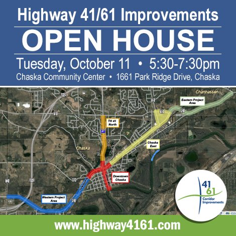 HWY 41/61 Open House