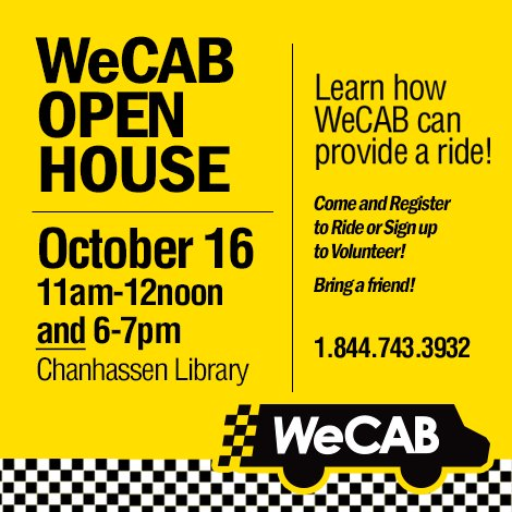 WeCAB Open House