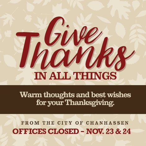 City Offices Closed for Holiday