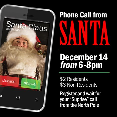 Phone Call from Santa Deadline