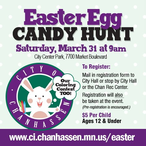 Easter Egg Candy Hunt