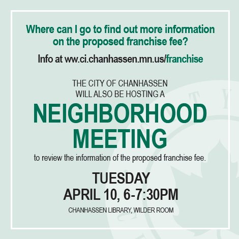Franchise Fee Neighborhood Meeting