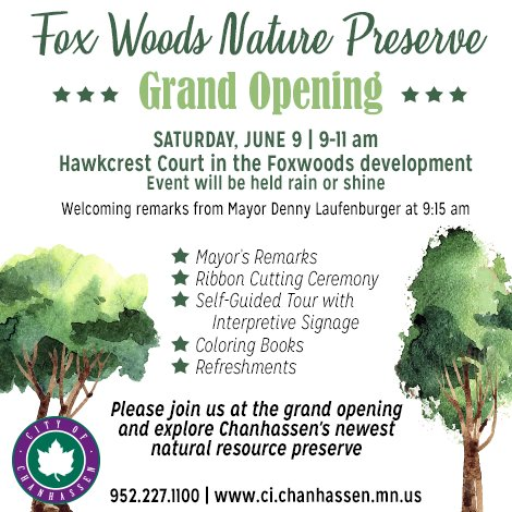 Fox Woods Nature Preserve Grand Opening