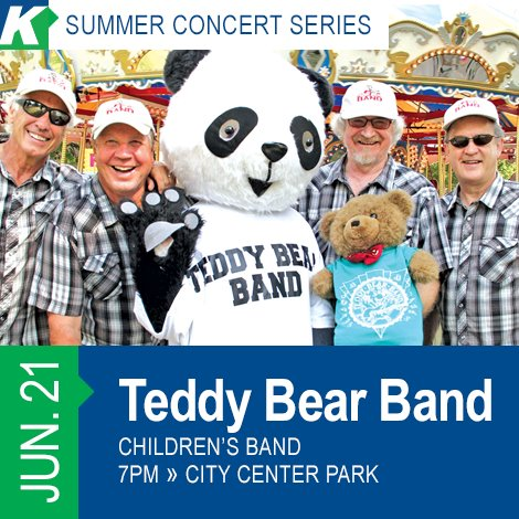 Summer Concert Series- The Teddy Bear Band